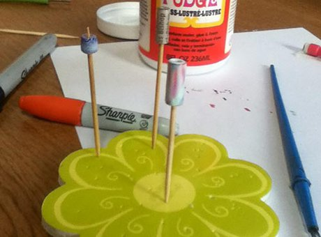 How to make paper beads - The flute bead - Step eight