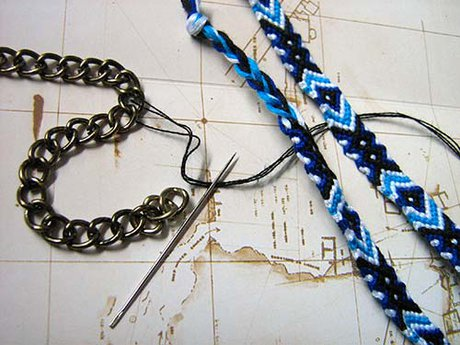 Chain Friendship Bracelet - What you will need