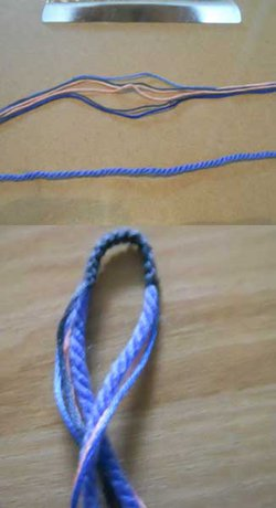 Multicolored macrame bracelets - You will need