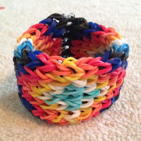 How To Make A Rainbow Loom Bracelet From An Alpha Friendship