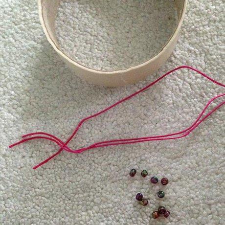 beaded braid bracelet friendship bracelet tutorial
