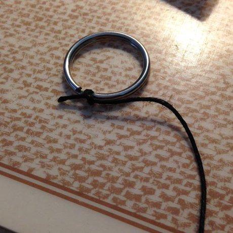 Dream Catcher Bracelet Ring How to make a Dream Catcher Friendship Bracelet Tutorial 36