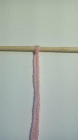 The Lark's Head Knot - Step 5