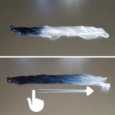 How to Make Ombre / Gradient Thread - Step 4: