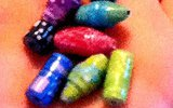How to make paper beads - The flute bead