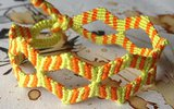 How to make a double zig zag bracelet