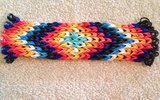 How to Make a Rainbow Loom Bracelet from an Alpha