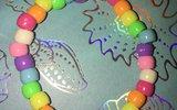Elastic Beaded Bracelet Tutorial