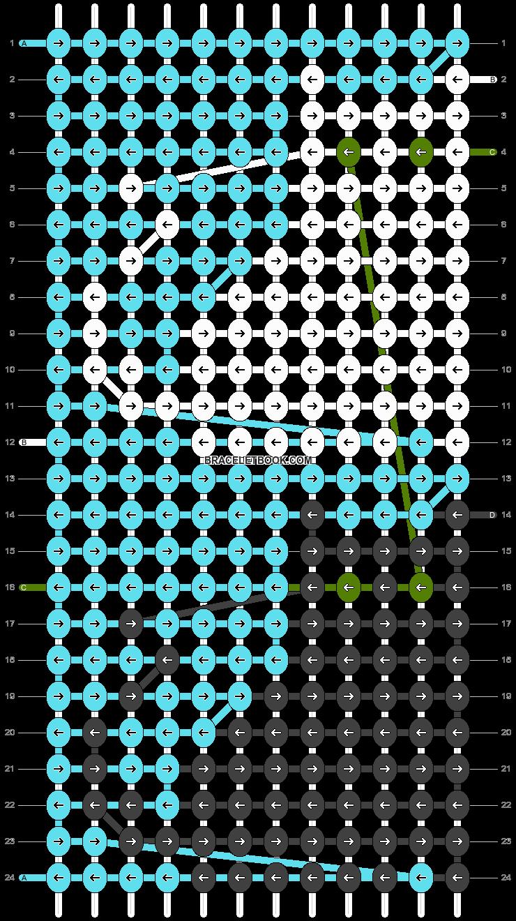 Alpha pattern #23949 variation #985 pattern