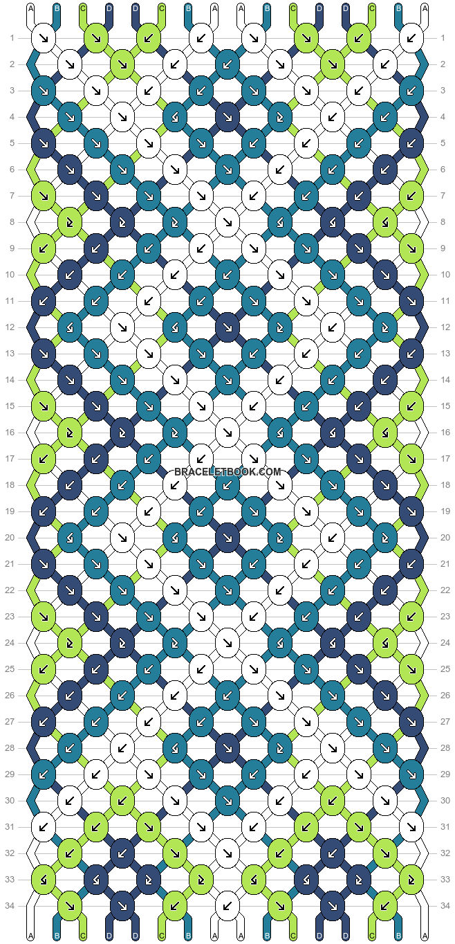 Normal pattern #24232 variation #1198 pattern