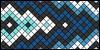 Normal pattern #2458 variation #1280