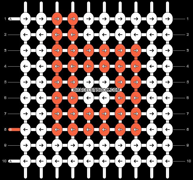 Alpha pattern #24434 variation #1323 pattern