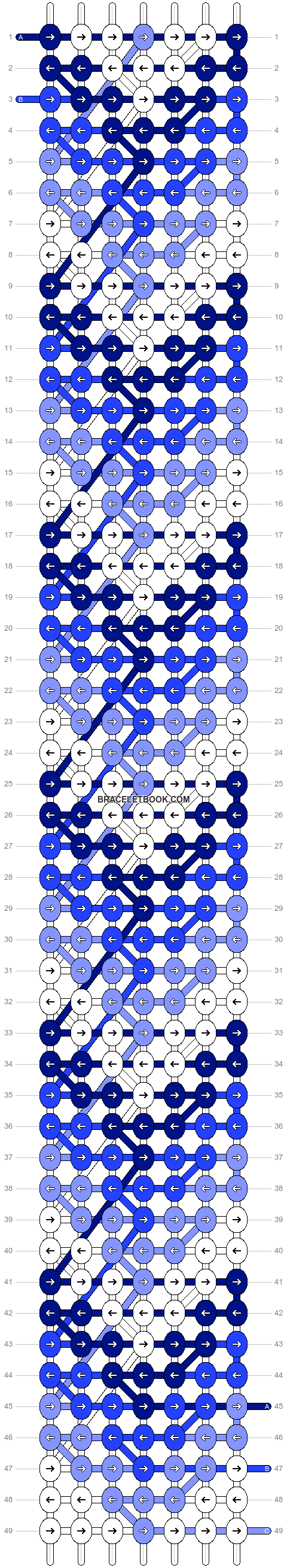Alpha pattern #20322 variation #1380 pattern