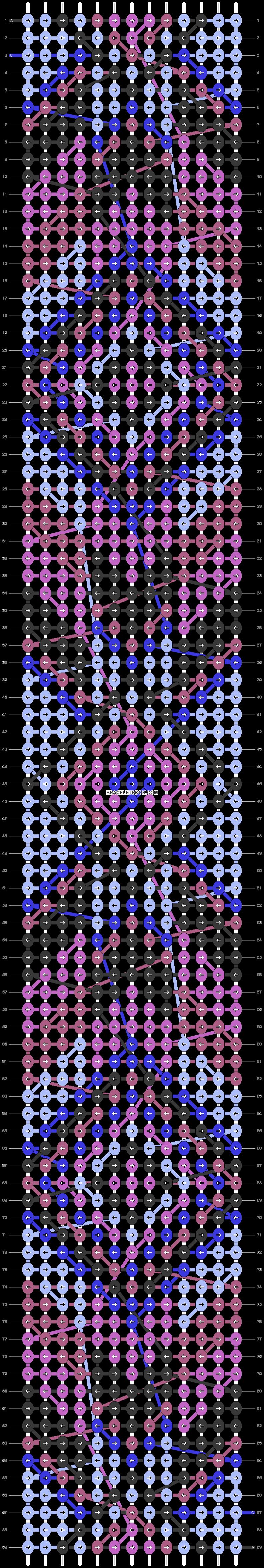 Alpha pattern #24793 variation #1707 pattern