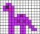 Alpha pattern #22158 variation #1722