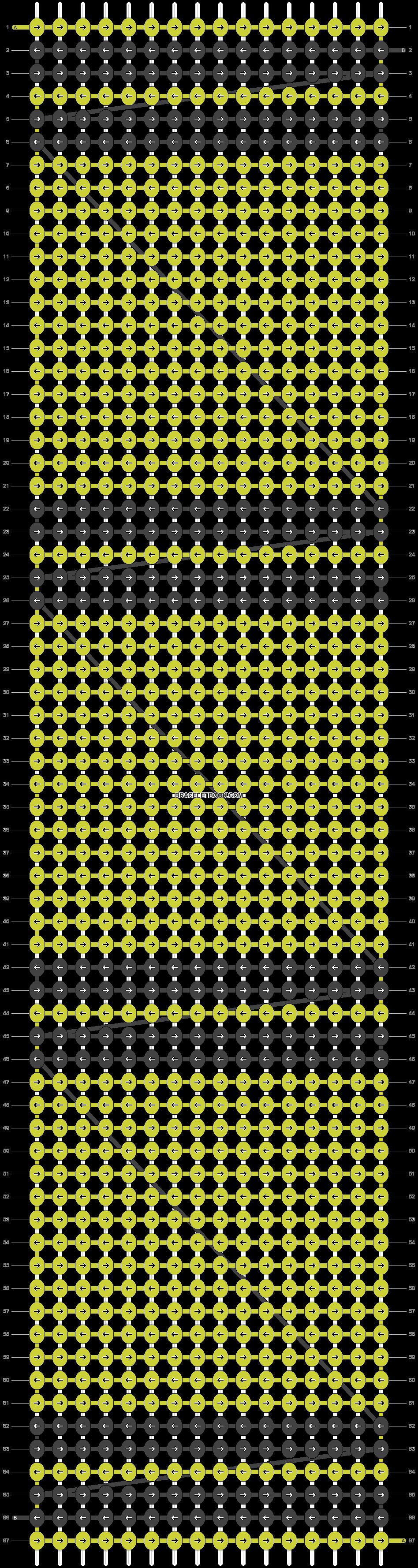 Alpha pattern #24814 variation #1734 pattern