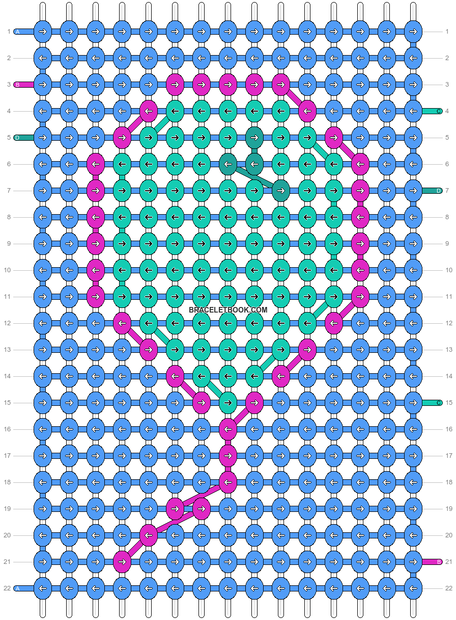 Alpha pattern #24988 variation #1900 pattern