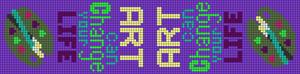 Alpha pattern #18071 variation #3014