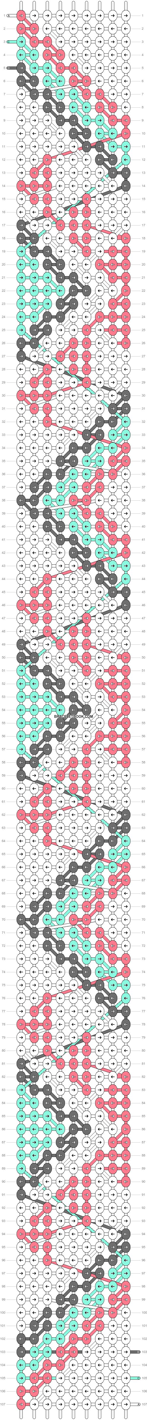 Alpha pattern #21107 variation #3407 pattern