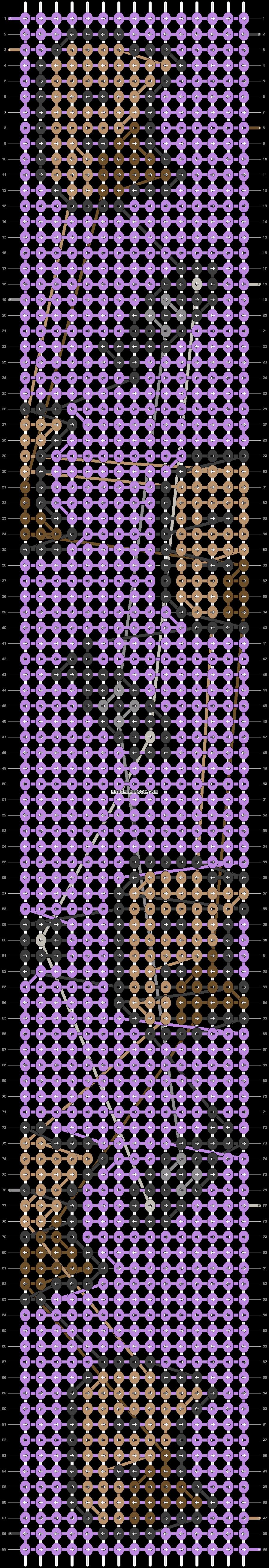 Alpha pattern #25056 variation #4010 pattern