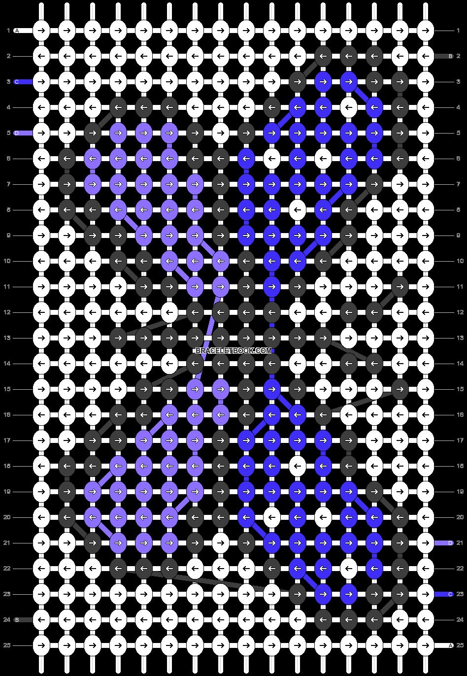 Alpha pattern #25876 variation #4153 pattern