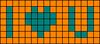 Alpha pattern #21734 variation #4198
