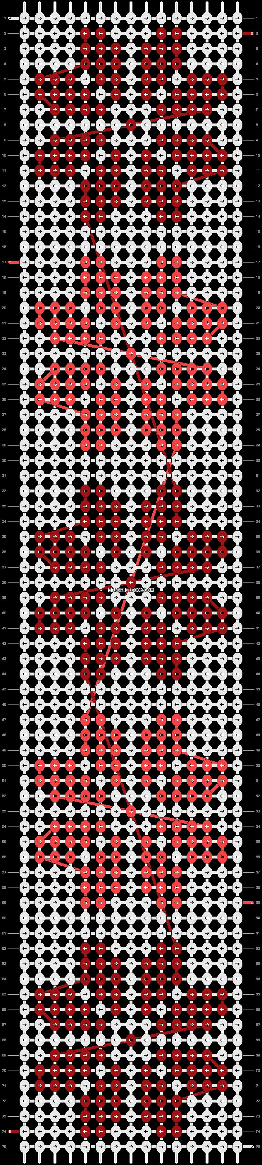 Alpha pattern #21569 variation #4305 pattern
