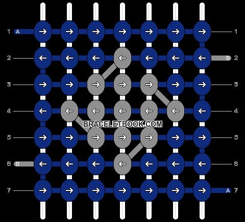 Alpha pattern #610 variation #4557 pattern