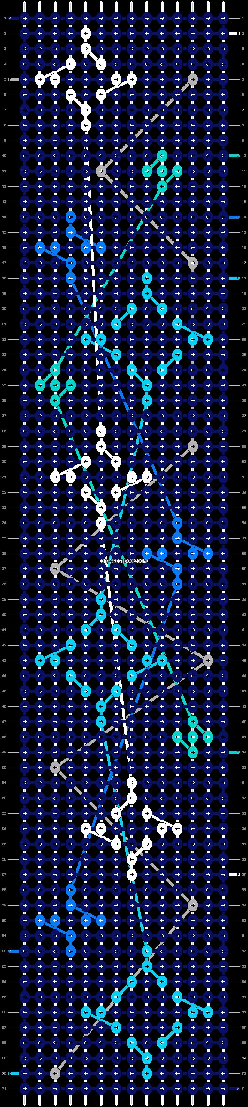 Alpha pattern #25815 variation #5105 pattern