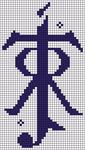 Alpha pattern #26088 variation #5329