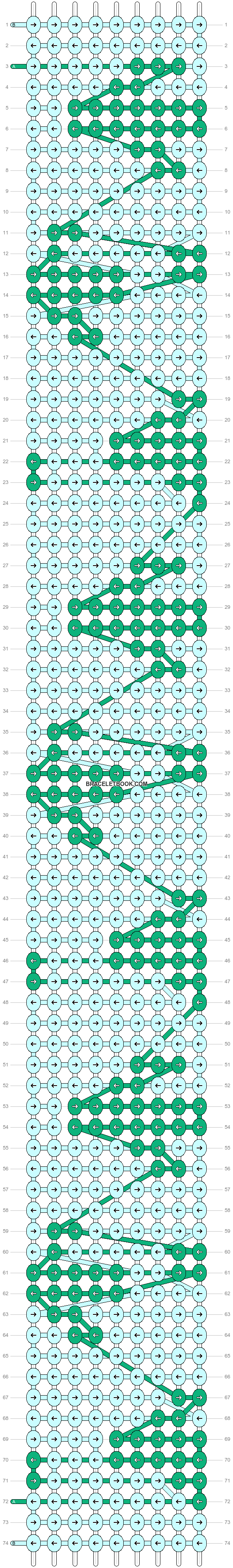 Alpha pattern #24784 variation #5643 pattern