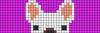 Alpha pattern #22880 variation #6649