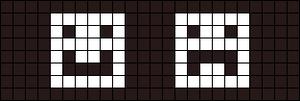 Alpha pattern #26273 variation #6817