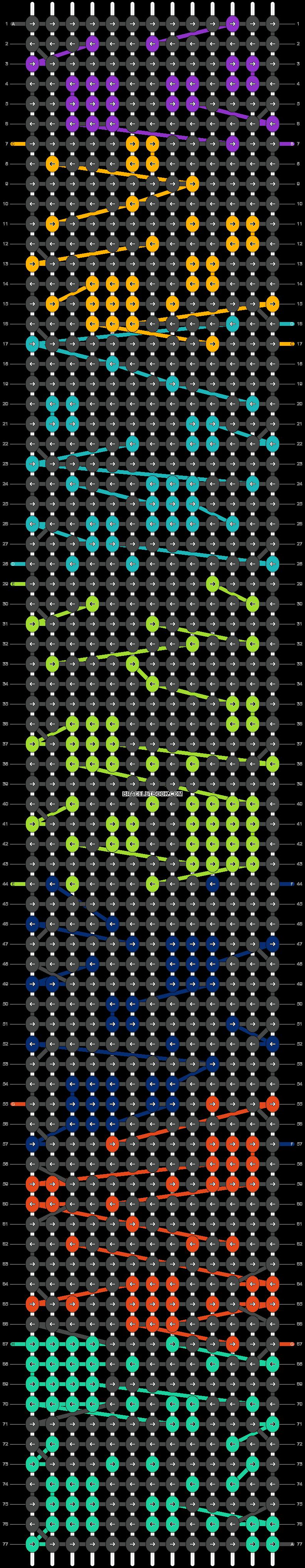 Alpha pattern #17298 variation #6968 pattern