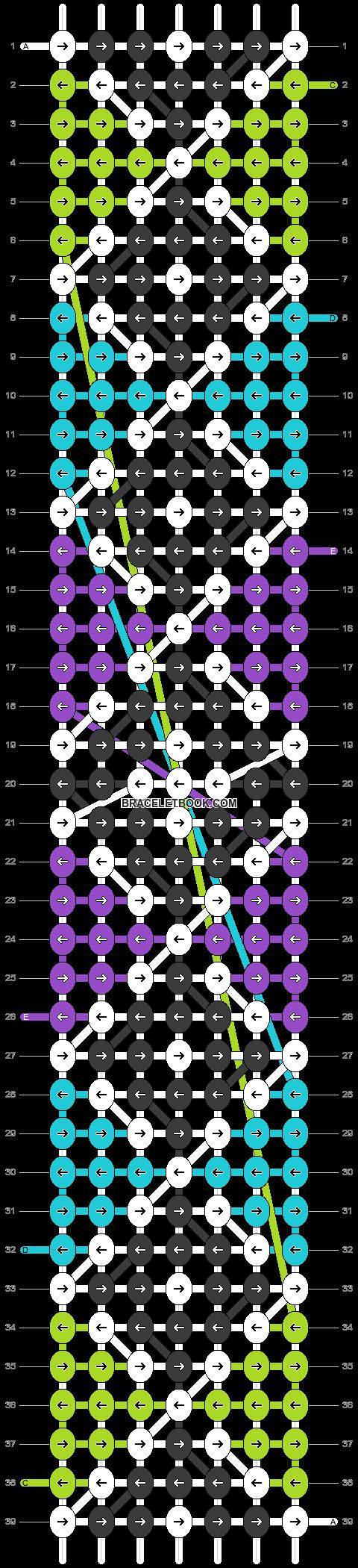 Alpha pattern #25349 variation #7113 pattern