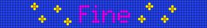 Alpha pattern #21122 variation #8305