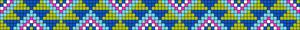 Alpha pattern #25312 variation #8354