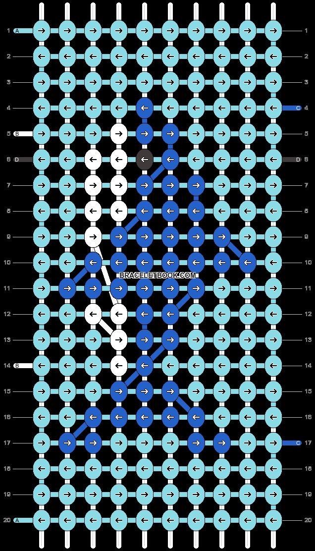 Alpha pattern #25299 variation #8419 pattern