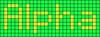 Alpha pattern #696 variation #8843