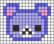 Alpha pattern #26333 variation #8861