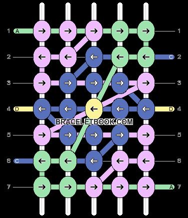 Alpha pattern #9702 variation #9377 pattern