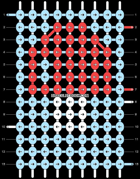 Alpha pattern #223 variation #9601 pattern
