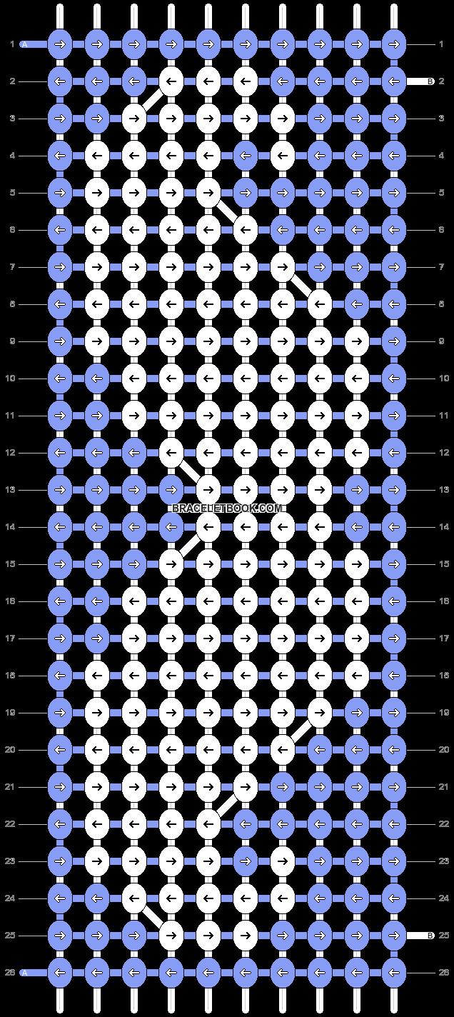 Alpha pattern #7615 variation #9608 pattern