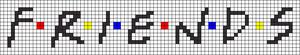 Alpha pattern #20680 variation #9865