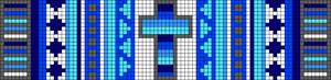 Alpha pattern #11280 variation #10218