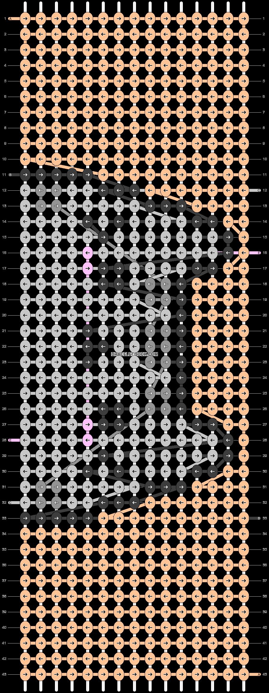 Alpha pattern #26406 variation #10391 pattern