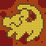 Alpha pattern #27172 variation #10577