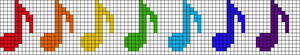 Alpha pattern #18773 variation #10761
