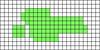 Alpha pattern #27192 variation #10796