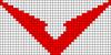 Alpha pattern #22130 variation #10813